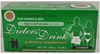 3 DIETERS HERBAL DRINK TEA X-STRENGTH FOR WOMEN & MEN