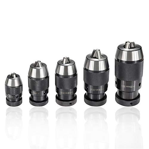 Shenyitool Schnellspann-Bohrfutter B10 B12 B16 B18 B22 for Bohrmaschine Bohrer Spannzangenfutter Werkzeug (Color : B12 (1 10mm))