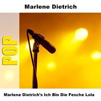 Marlene Dietrich's Ich Bin Die Fesche Lola