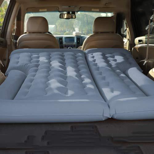 FLB Kfz-Kofferraum-aufblasbare Luft-Campingmatratze, mit elektrischer Matratzenpumpe und Aufbewahrungstasche-Kinderwagen, Wohnmobil und SUV-Matratze,Gray