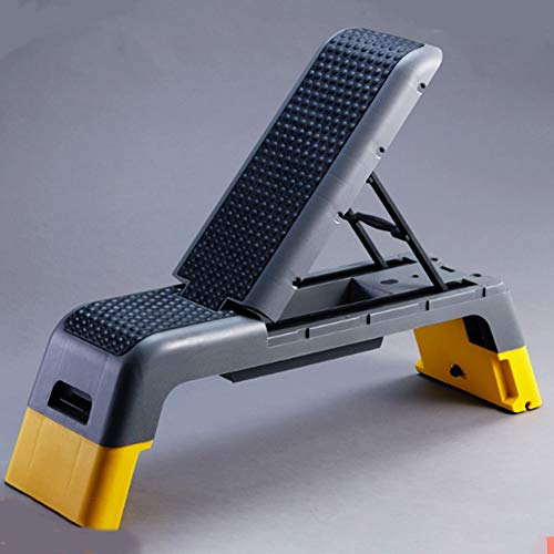 SY Adjustable Dumbbell Bench, Professional Bench Press Bench Household Multifunctional Folding Fitness Bird Supine Training Chair Fitness Equipment