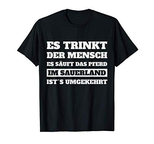 Sauerland Heimat Spruch Geschenk T-Shirt