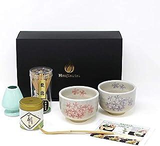 2番(貝桜セット)二人でちょっと一服セット z 茶道具 セット 抹茶 ギフト ほんぢ園
