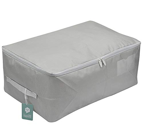 Clothes Storage Bins, Beddings, Blanket Organizer Storage Containers, House Moving Bag, Coffee