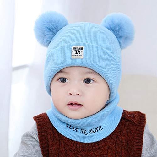 Xme Autumn and winter children's hat, baby wool hat, warm baby hat