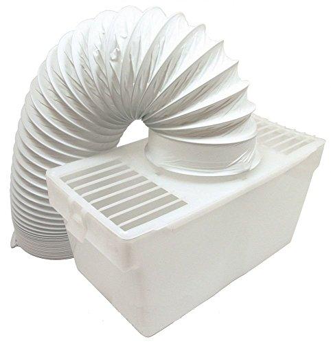 LAZER ELECTRICS Kit Universal de ventilación del Condensador con Manguera para Secadora para Interior White Knight Beko