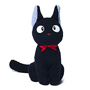 GUND Kikis Delivery Service Jiji Cat Stuffed Animal Plush, 6″