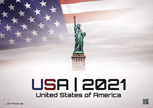USA - eine Reise durch die Vereinigten Staaten von Amerika - dem Land der unbegrenzten Möglichkeiten - 2021 - Wandkalender - Format: DIN A3