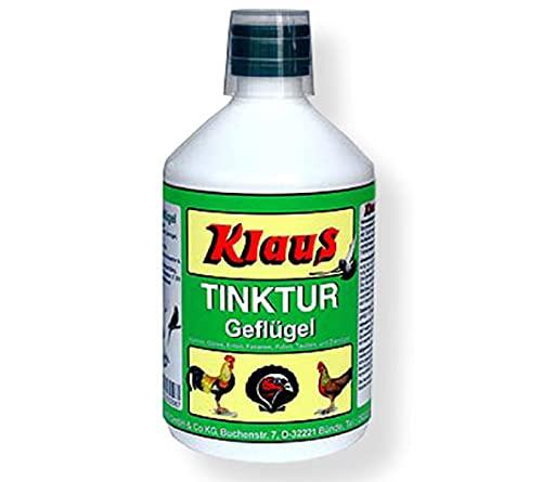 FINCA CASAREJO Vitaminas para gallinas - Tinktur Mantiene Limpia el Agua de los bebederos - Facilita la digestión de Las Aves - Previene la deficiencia vitaminas - Tinktur 1 L (Ref. Tink)