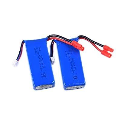 YouCute X8C Batteries