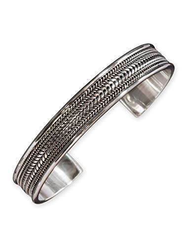 Fly Style Armreif aus 925 Sterling Silber für Damen und Herren - Wikinger Schmuck, Modelle:Freya