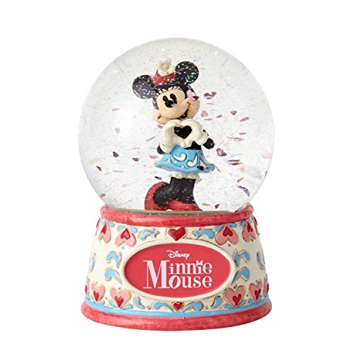 Enesco Disney Traditions Sweetheart Minnie Water Globe