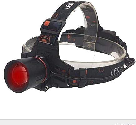 Leisu Solarenergie USB Wiederaufladbare Stirnlampe LED Wasserdichte Kopflampe Stirnlampe Stirnband Jagd Nachtlicht Kopflampe f/ür Wandern Angeln Radfahren Laufen Wandern Jagd Klettern