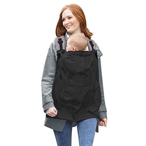 LHKJ Baby windundurchlässige Hoodie Umhang mit Taschen Universal Bezug für Baby Carrier Tragetücher Cape