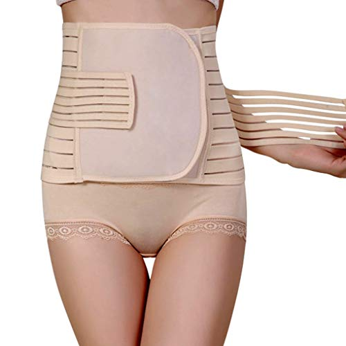 NUCARTURE® Post Pregnancy belts after delivery c section corset,post maternity belt support for women normal delivery corset abnormal Slimming Postpartum Waist Belt Recovery Tummy Body Shaper Hip Cincher controller (80-110cm).