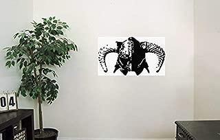 HomeDecorStore TES 5 Skyrim Vinyl Wall Decals Helmet Dovahkiin Decal Sticker Vinyl Murals Decors IL1420