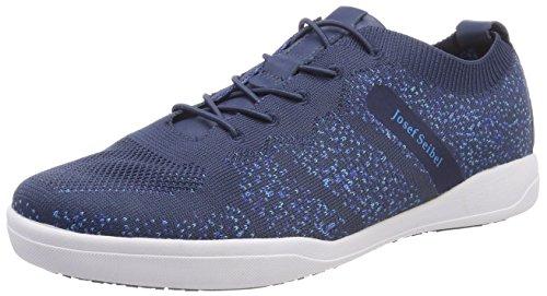 Josef Seibel Damen Sina 43 Sneaker, Blau (Blau-Kombi), 41 EU