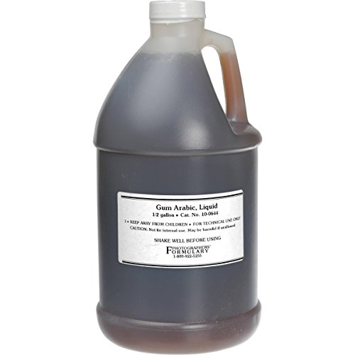 Photographers' Formulary 0.5gal Gum Arabic (Liquid)