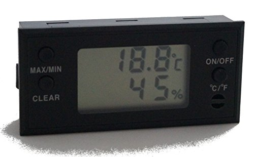 GERMANUS Digital Humidor Hygrometer E2