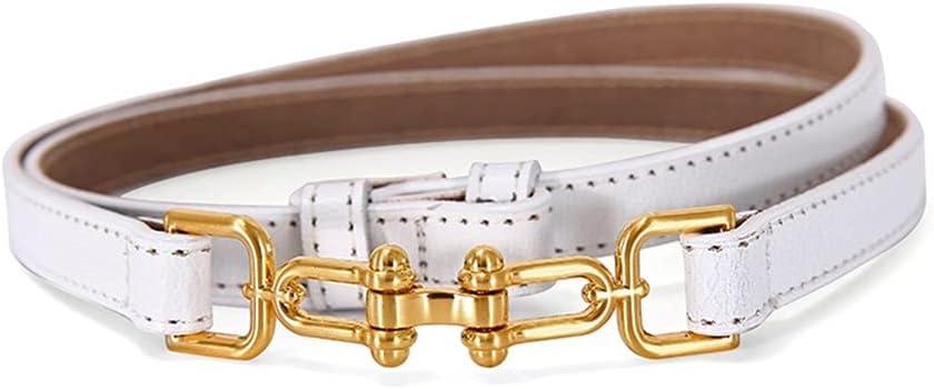 LCKJ Adjustable PU Credence Leather Ladies Women Dress Ranking TOP7 Skinny Thin Belts