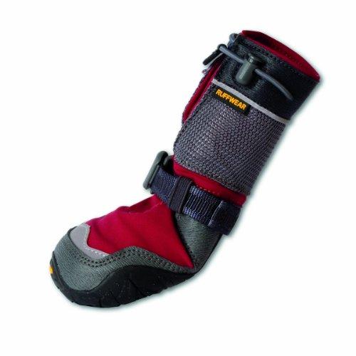 Ruffwear RUFFWEARBark'n Boots Polar Trex Winter-Hundeschuhe, rot, XS