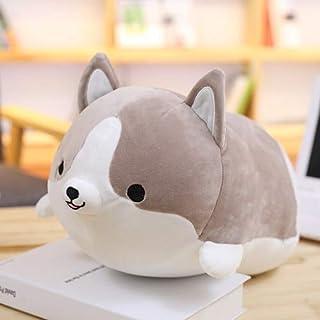 30-60 cm Creatieve leuke Corgi Hond Knuffel Gevuld Zacht Dier Kussen Mooie Cartoon Pop voor Kinderen Kawaii verjaardagscad...