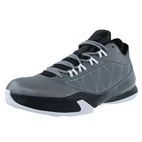 Nike Jordan CP3.VIII Scarpe da Basket Uomo, Grigio/Nero/Bianco (Cool Grey/Black-White) 46 EU