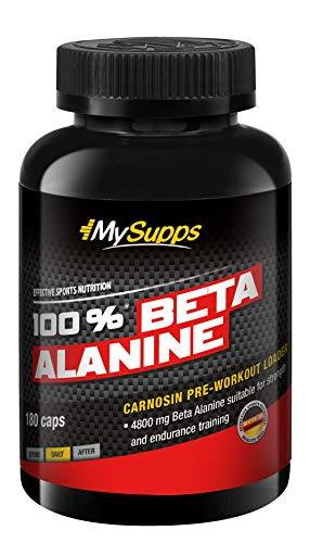 My Supps 100% Beta Alanine 4800mg - Pre Workout Loader (Kapseln)