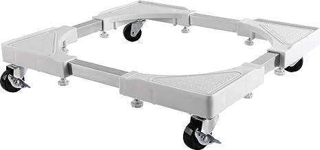 mywall HZ22WL rolframe voor huishoudelijke apparaten, ideaal voor wasmachines/drogers, tot 200 kg wit