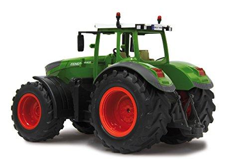 RC Auto kaufen Traktor Bild 5: Jamara 405035 – Fendt 1050 Vario 1:16 2,4Ghz – RC Traktor, Motorsound (abschaltbar), Rückfahrwarnsound, Hupe, Abschaltfunktion, 2 Radantrieb, Gummireifen, Helle LED's vorne, Blinker, Demo Funktion*