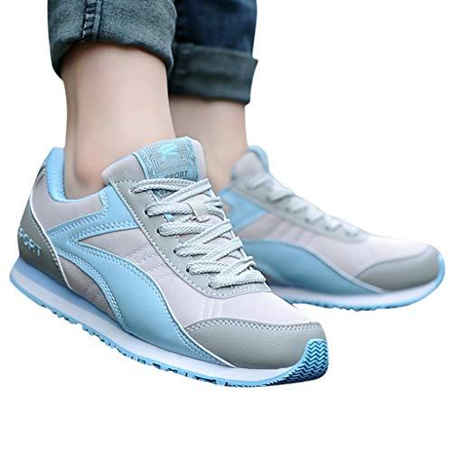 Berimaterry Zapatillas para Mujer Mujer Deporte Running Zapatos Correr Gimnasio Sneakers Padel...
