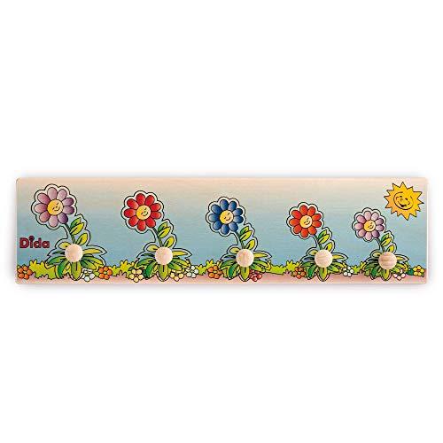 Dida - Puzzles secuencias - Flores - Rompecabezas de Madera para niños