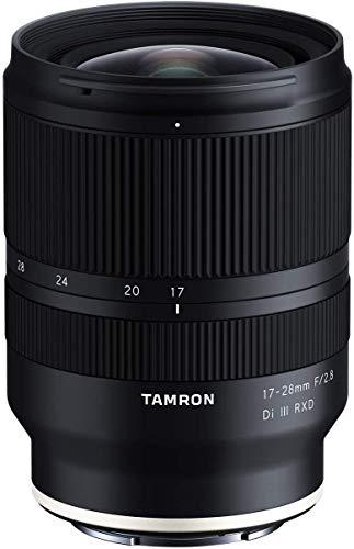 Tamron 17-28 mm f/2.8 Di III RXD für Sony Mirrorless Full Frame E Mount (internationales Modell)
