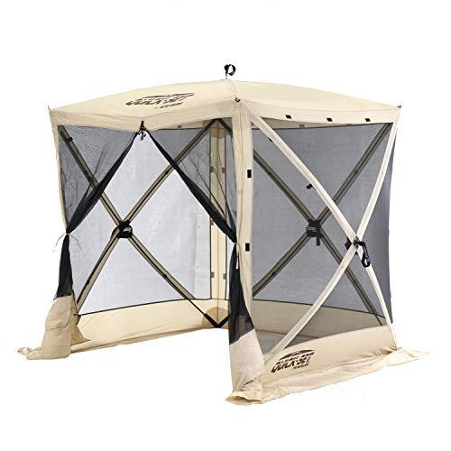 CLAM Quick-Set 6 x 6 Foot Traveler Portable Pop Up Outdoor...