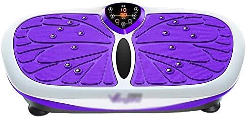 Plataforma Vibratoria Ultra Slim Vibratoria, Entrenamiento Máquinas de ejercicios de cuerpo completo de la máquina entera Plataforma aptitud for la pérdida de peso y tonificación de principal Formació