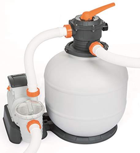 Bestway Flowclear Sandfilteranlage mit ChemConnect und Zeitschaltuhr 7,571 l/h