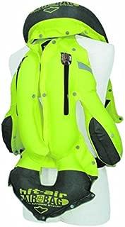 Hit Air Motorcycle MLV-YC Neon Reflective Airbag Vest (XL-3XL)