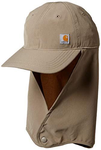 Carhartt Force Extremes Angler Neck Shade Cap Gorra de béisbol, Desierto, L Unisex Adulto