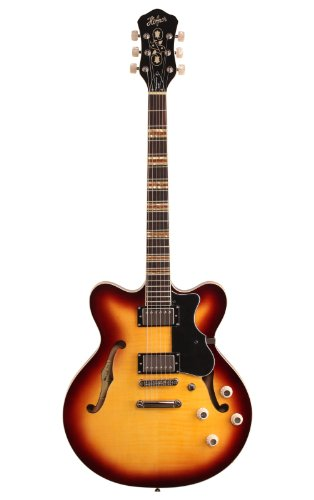 Hofner HCT Verythin Gitarre - Sunburst