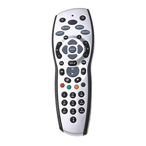 bibididi Reemplazo de Control Remoto inalámbrico Sky Plus HD TV Box 2017 Revisión 9F, Control Remoto 2.4Ghz
