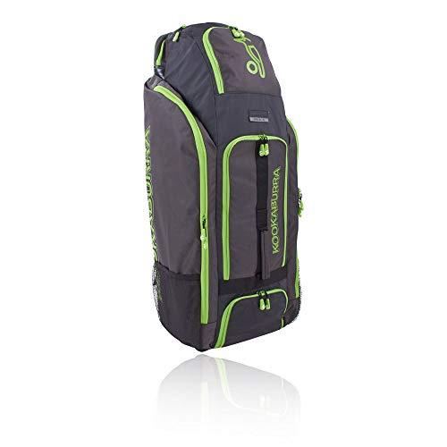 KOOKABURRA Pro D1.0 Cricket Duffle Bag, schwarz/Lime, Einheitsgröße