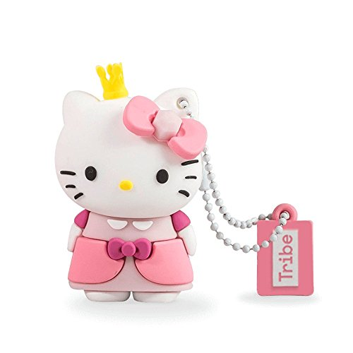 Chiavetta USB 8 GB Hello Kitty Princess - Memoria Flash Drive 2.0 Originale Hello Kitty, Tribe FD004410