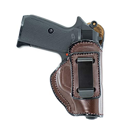 Maxx Carry IWB Leather Gun Holster for Ruger LCP, LCP II...