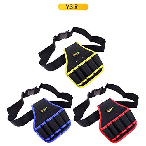 Toolkit GCX- Werkzeugtaschen Nylongurte Mechanische Profi-Taschen Arbeitstaschen for Elektriker geeignet Komfortabel (Size : Y3)