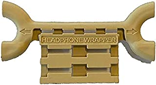 Headphone Wrapper Earbud & Cord Holder Beige 0