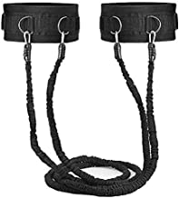 Sunsign Bungee Resistance Bands Speed and Agility Training Equipment with Adjustable Belt to Improve Speed Agility Agility and Explosiveness