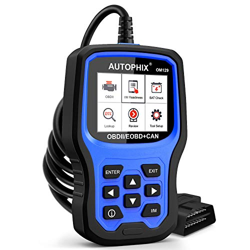 AUTOPHIX OM129 OBD2 Scanner Auto Code Reader Car Diagnostic Scan Tool with Graphing Battery Test for All OBD II Car After 1996Upgrade Version
