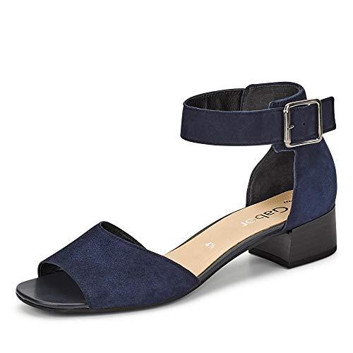 Gabor Sandaletten bis 30mm gl. Boden Gr.3, Blau