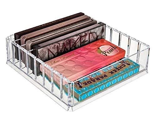 Organisateur de maquillage – Compartiments amovibles – Boîte de rangement – Maquillage – Multifonction – Adaptable – Cosmétique – Rangement