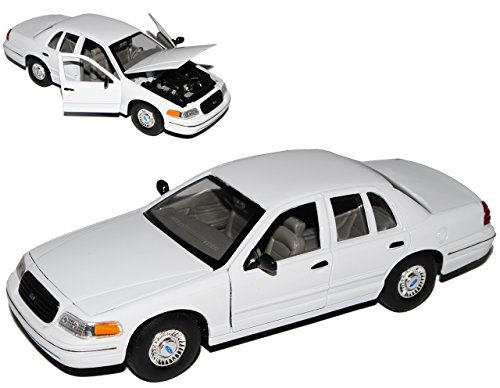 Welly Ford Crown Victoria Limousine Weiss 1/24 Modell Auto